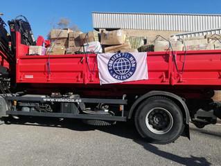 La empresa pública Divalterra  (Brigadas forestales )nos ha donado material