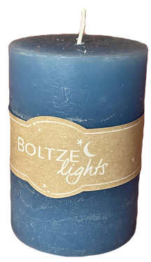 Свеча синяя 10см