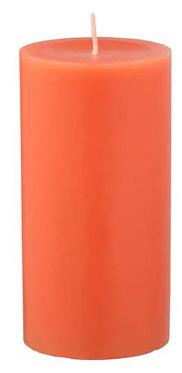 Свеча персик и апельсин 14 см