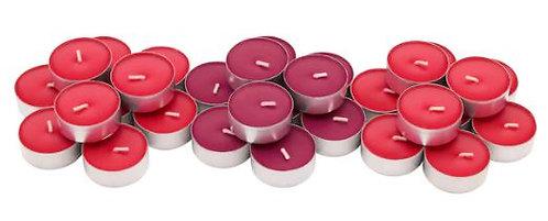 Свеча красные садовые ягоды 3см