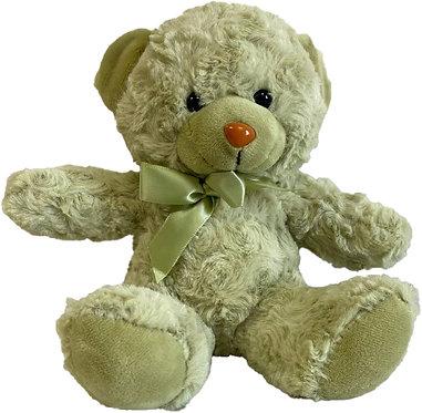 Медвежонок 20 см фисташковый