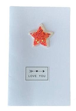"Открытка 012 ""Love YOU"""