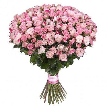75 Кустовых роз
