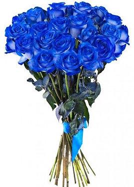 21 Синяя роза