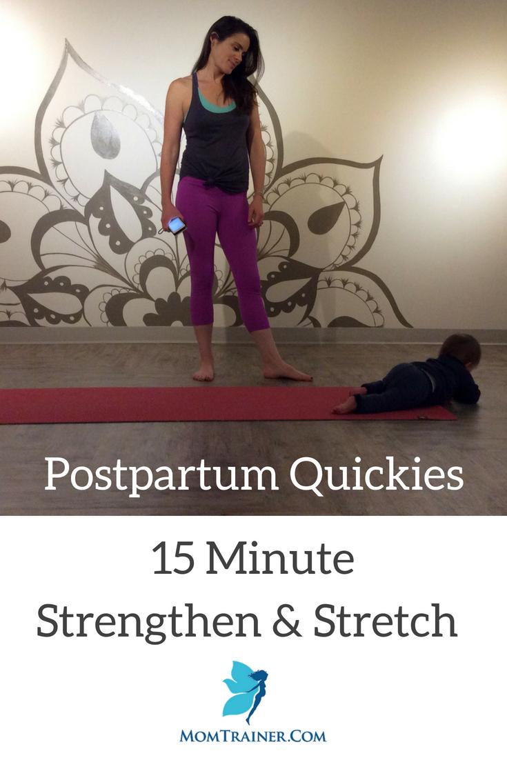 15 Minute Strengthen and Lengthen Progra