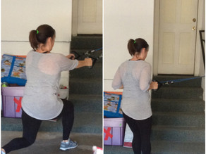 Workouts- Lunge to Row