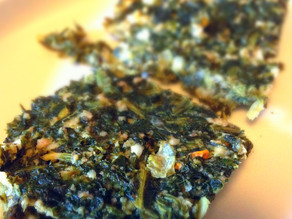 Recipes- Mediterranean Spinach Squares