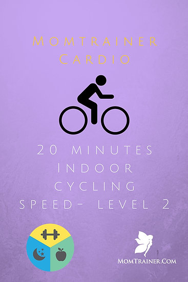 20 Minute Indoor Cycling workout- SPEED