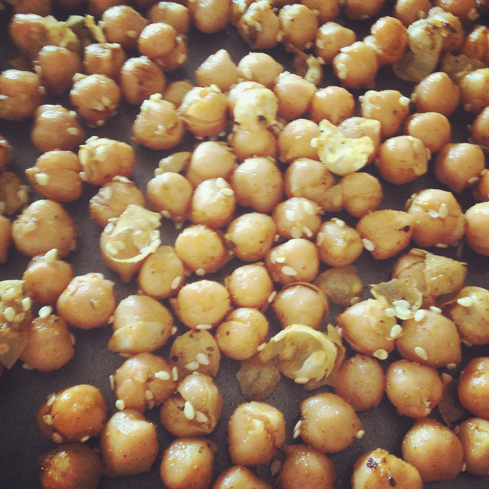 roasted chickpeas make a killer snack!