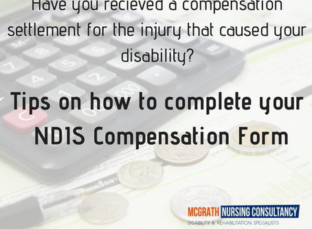 NDIS & Compensation - how to complete the paperwork