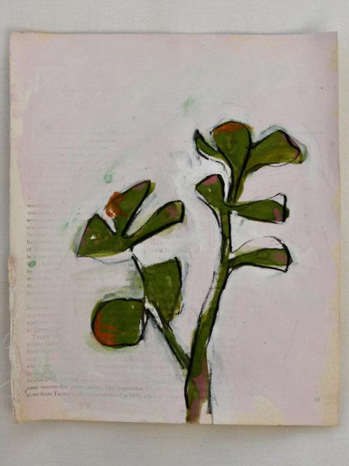Turner book Cactus 2 (framed)