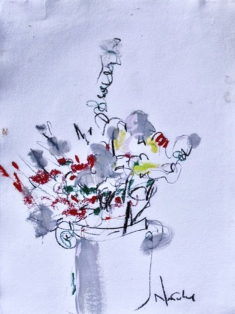 Dufy Floral (with handles)