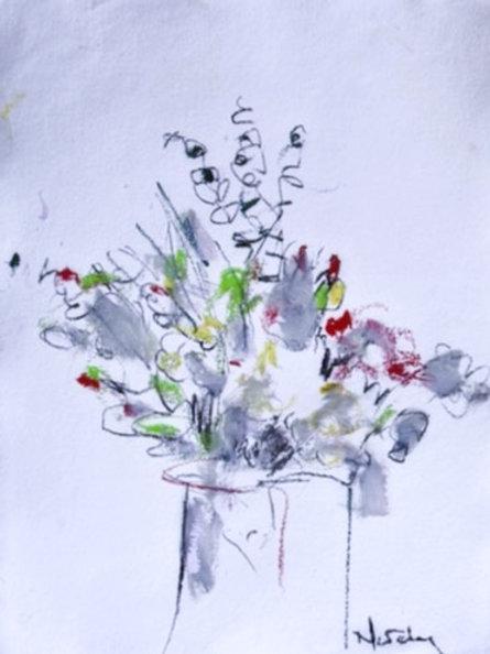 Dufy Floral. (no handles)