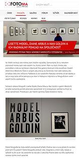 Model, Arbus, Goldin