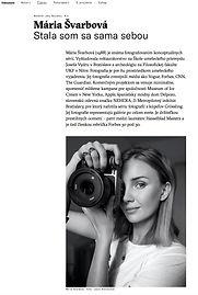 Interview Maria Svarbova