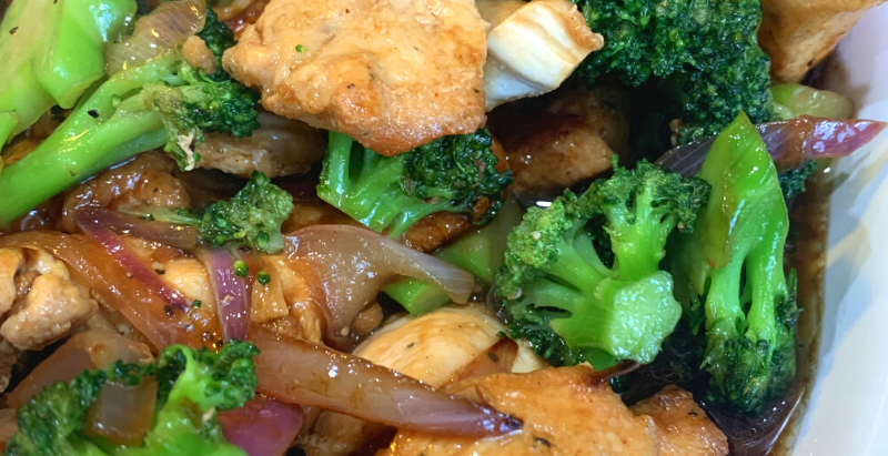 Chicken Broccoli in Oyster Sauce