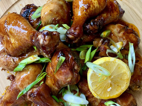 Baked Chicken Drumstick - INASAL STYLE!