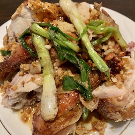 Classic Lechon Manok w/ Honey and Fried Garlic