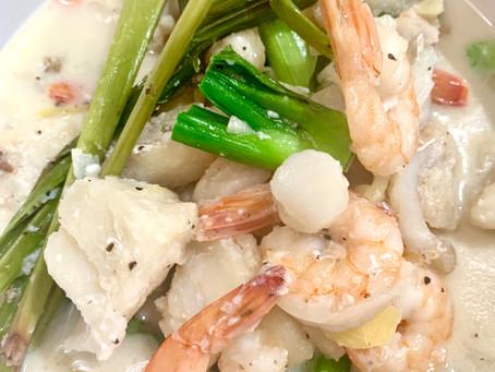 Tri-Seafood Ginataan