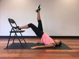 Hip Raises Chair - Single Leg