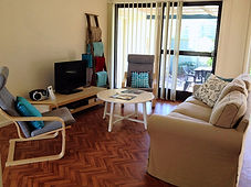 Pet friendly holiday accommodation at Shearwater Cottages Shoal Bay