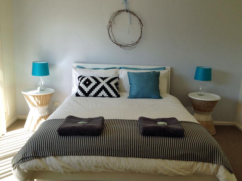 Shearwater Cottage 2 Master bedroom