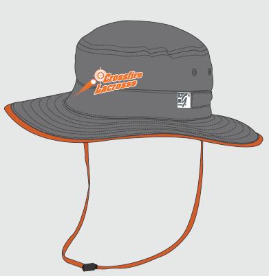 Dark Grey Bucket Hat