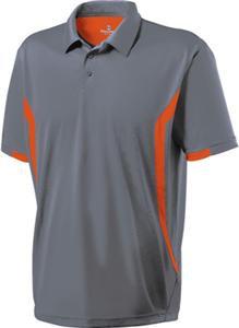 Grey Polo with Orange Side Stripe (Lmt Qty)