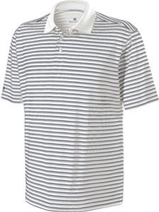 Holloway Grey Striped Polo (Lmt Qty)