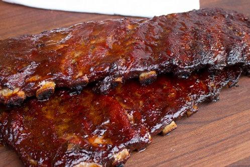 Smoked BBQ Ribs Family Bundle