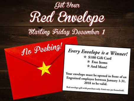 'Tis the Season for Red Envelopes!