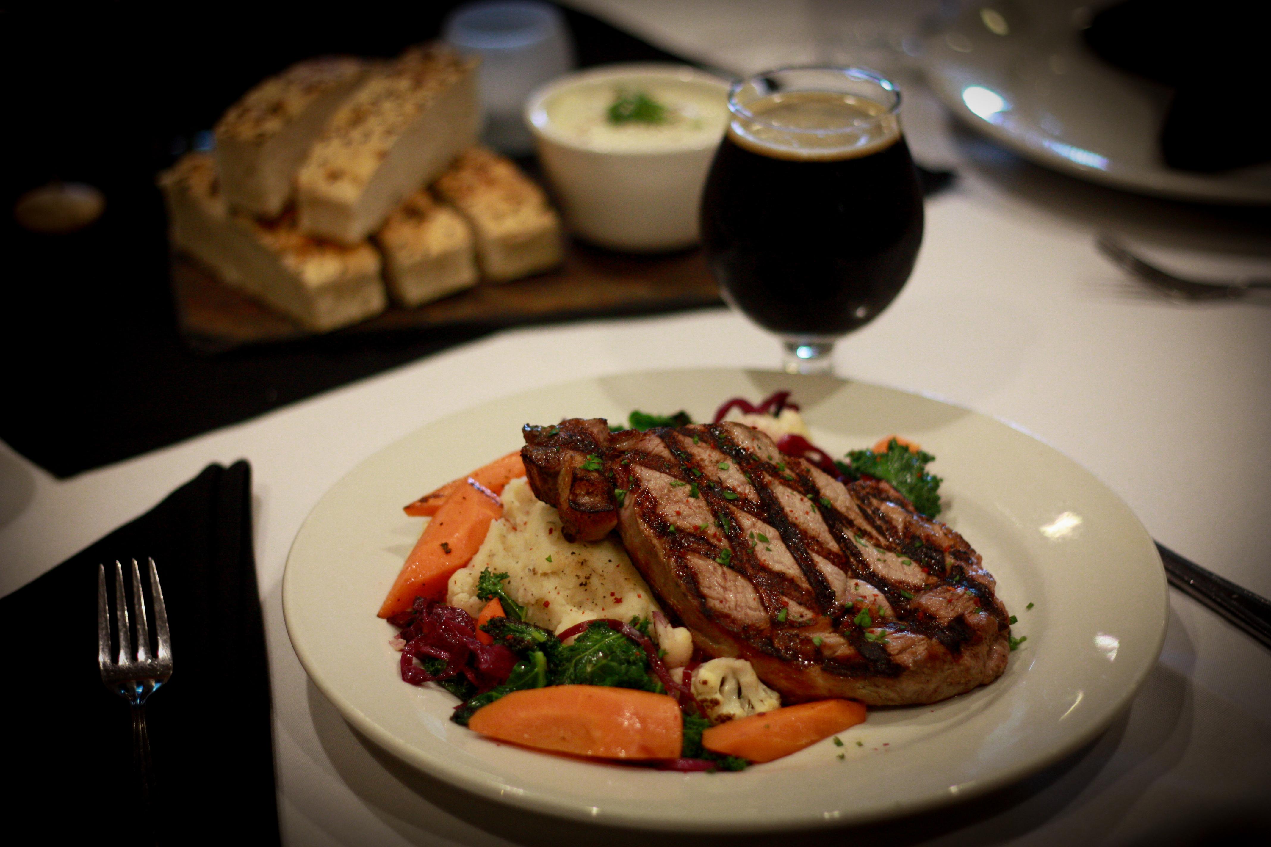 Aged Black Angus Beef Steak