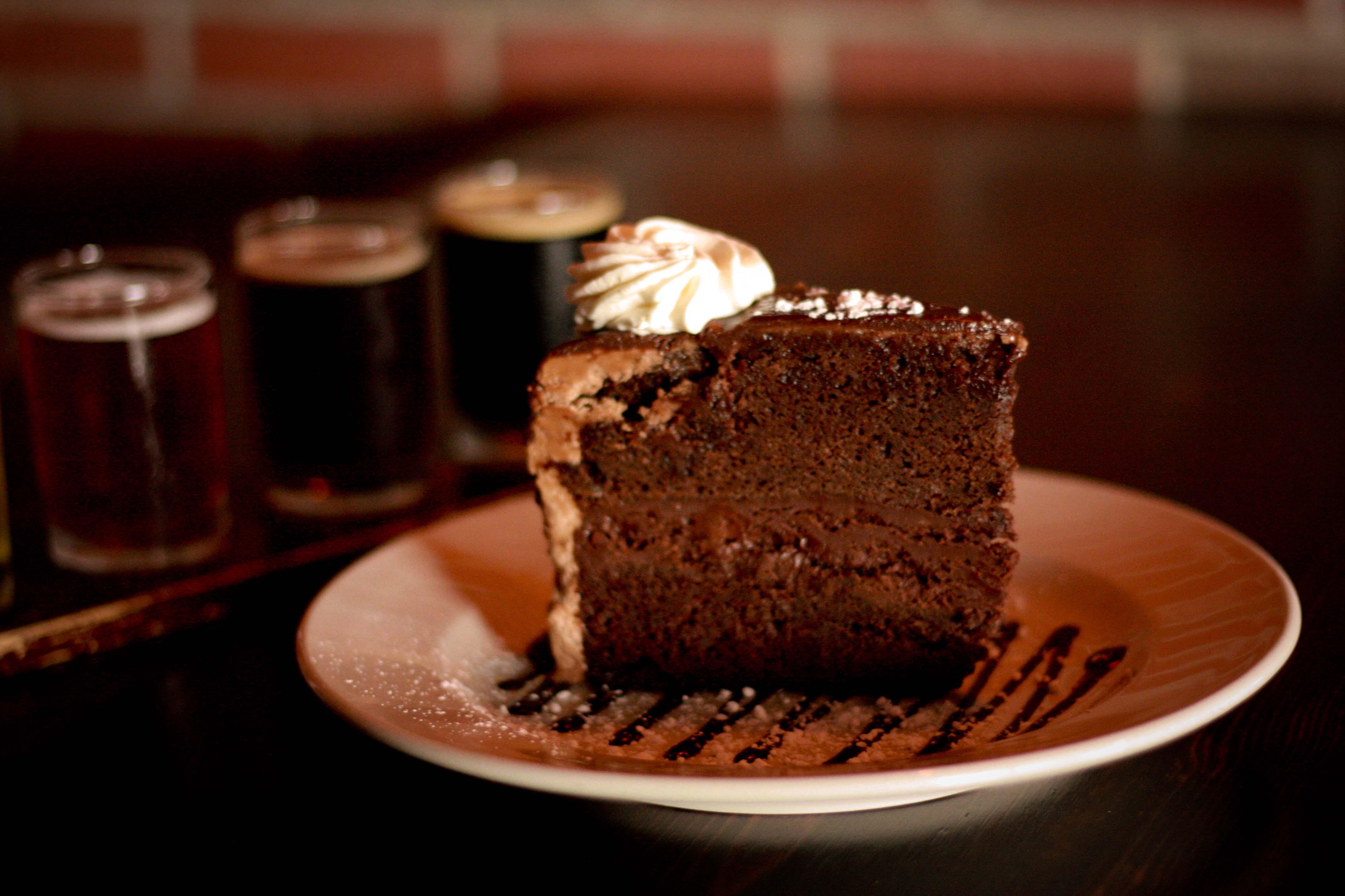 Triple Chocolate Stout Cake