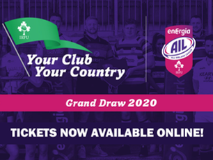 Your Club, Your Country draw tickets now available