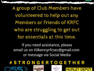 KRFC Covid-19 Volunteer Team