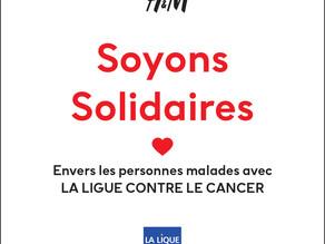Des boîtes cadeaux vendues par H&M au profit de la Ligue contre le cancer !