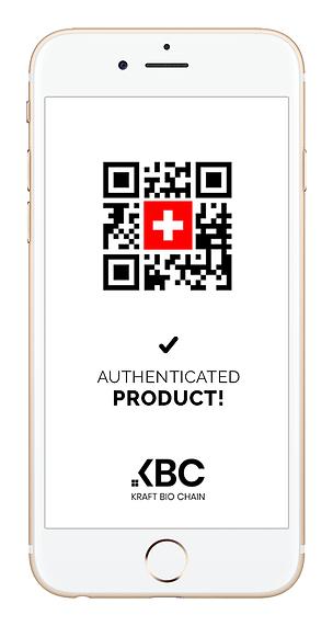 Cellphone- QR code - Blockchain - Authenticated - Agribusines