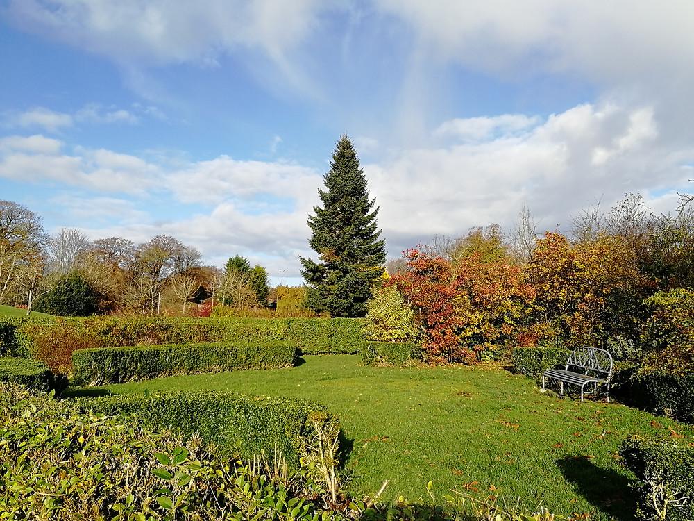 The recreated Patrick Murray Physic Garden. Peel Park, Livingston