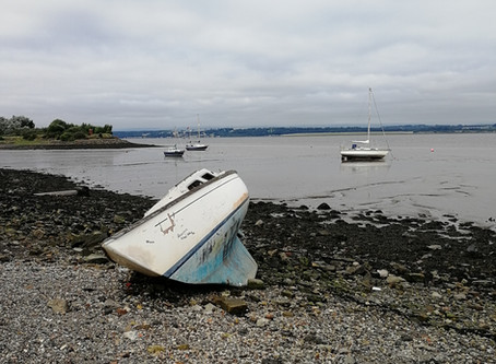 A walk along the Bo'ness waterfront