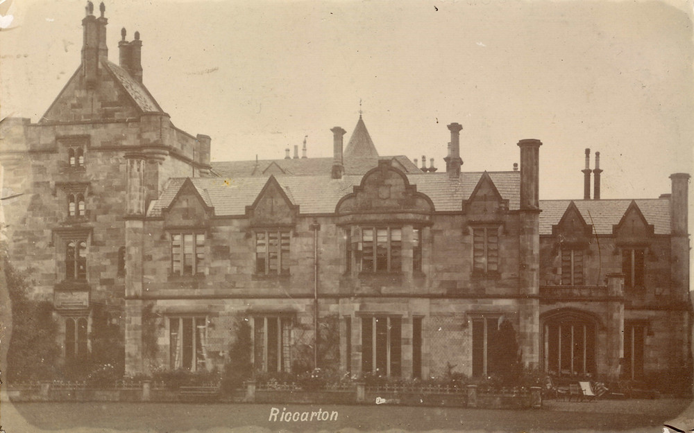 Riccarton House circa 1904