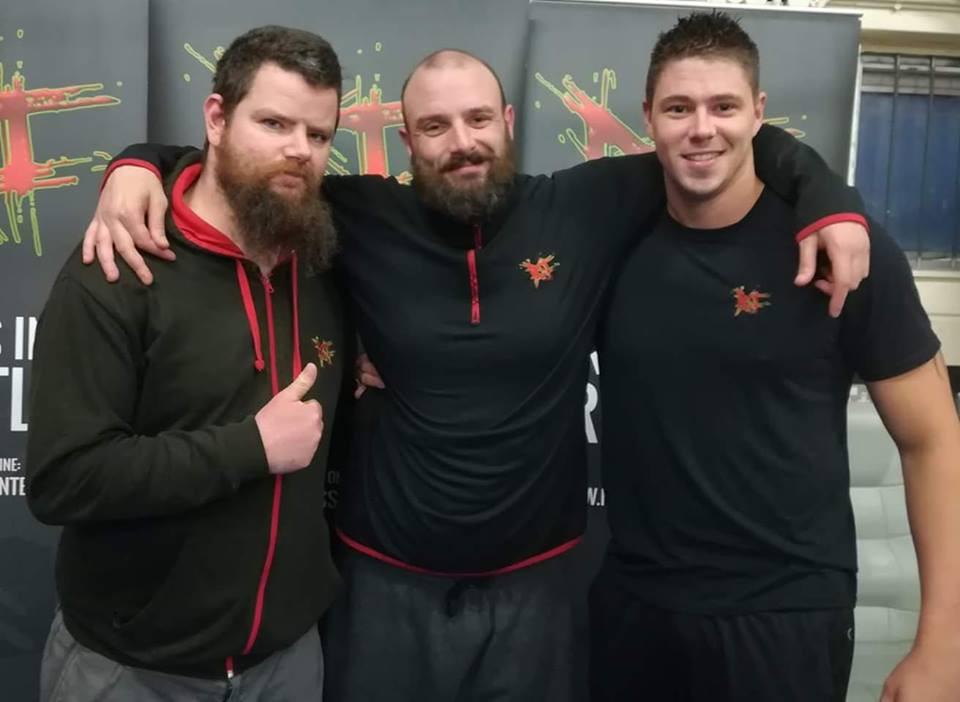 The coaching team