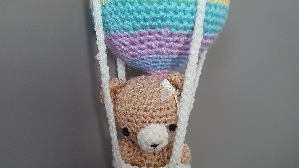 Hanging Crochet Hot Air Balloon
