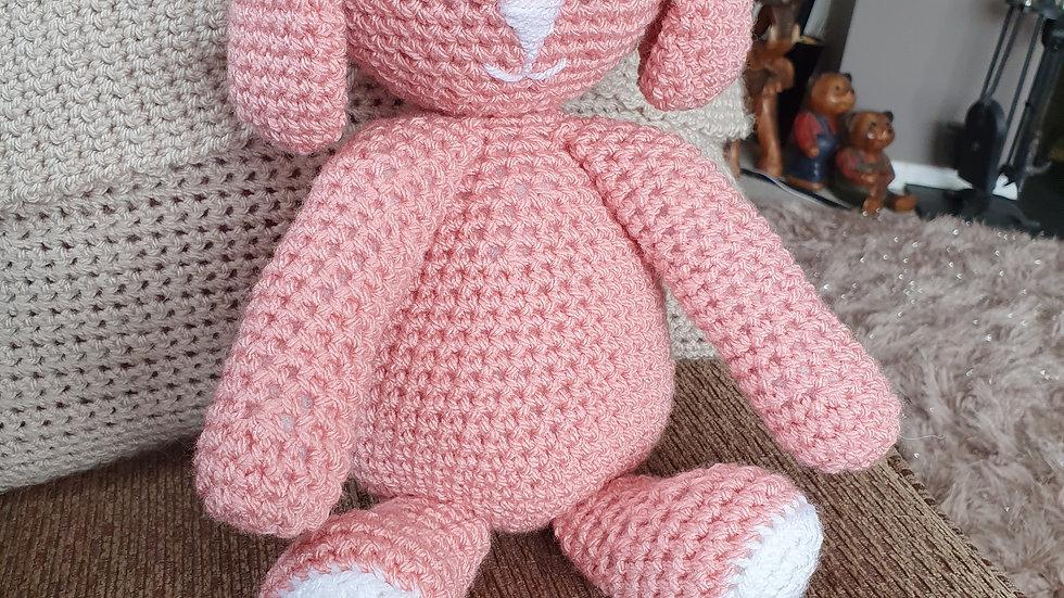 Blossom Crochet Bunny