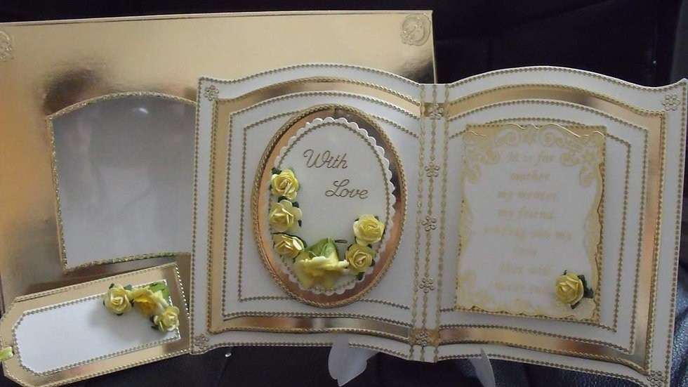 Book Card And Presentation Box