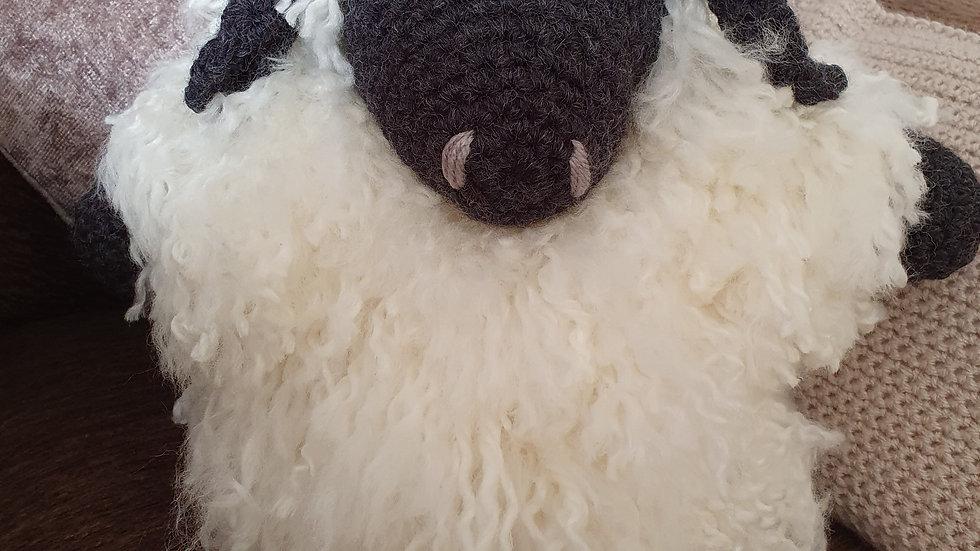Crochet Sheep Doorstop