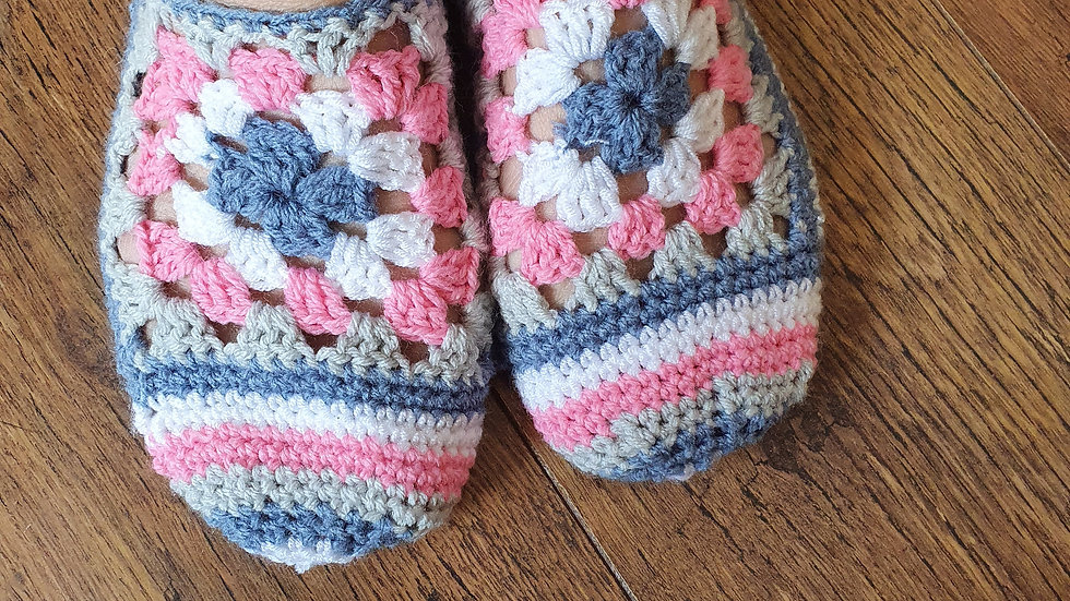 Crochet Summer Slippers