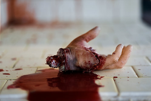 Real Feel Gory Severed Male Hand