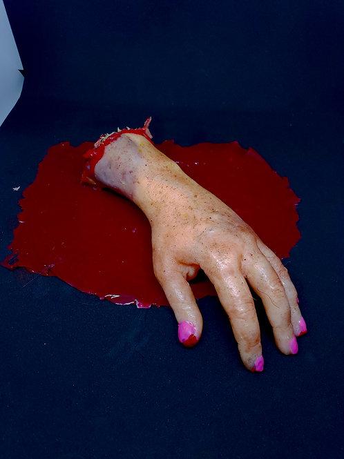 Real Feel Severed Female Hand
