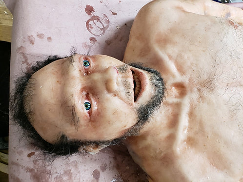 Autopsy Male Severed Head