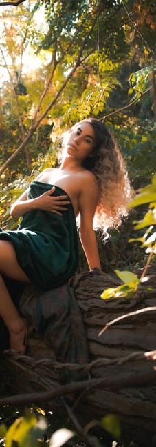 Jess in Woods.